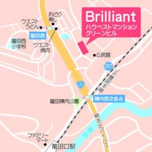 ブリリアント 地図